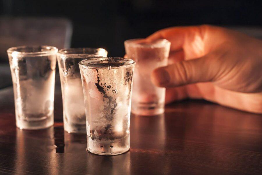 kieliszki do wódki